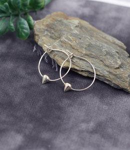 Sterling zilver creolen oorbellen